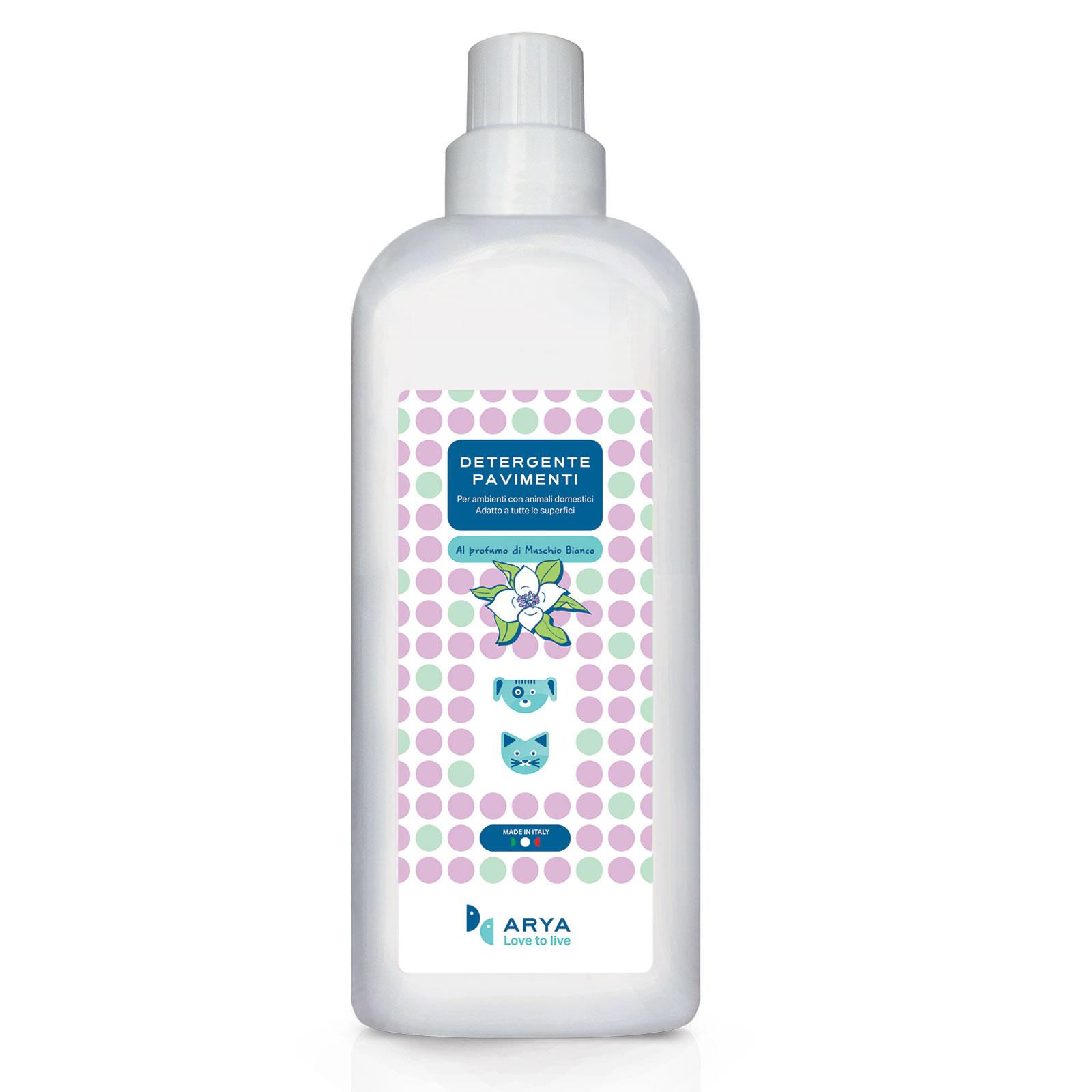 Detergente Pavimenti Muschio Bianco