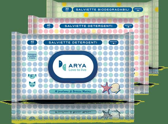 Salviette detergenti Arya